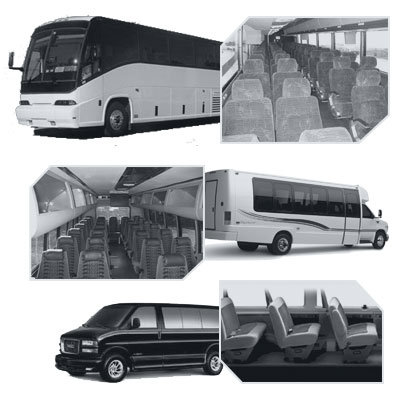 Colorado Springs Coach Bus rental