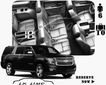 SUV Suburban for hire in Colorado Springs