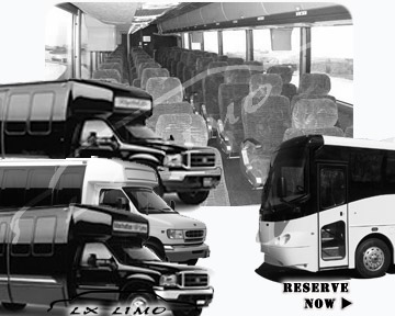 Colorado Springs Bus rental 36 passenger
