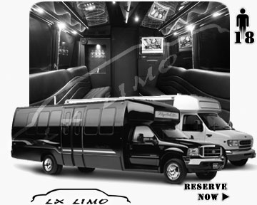Colorado Springs Party Bus party Bus | 18 passenger PartyBus in Colorado Springs