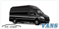 Luxury Van service in Colorado Springs, CO
