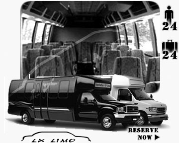 Bus for airport transfers in Colorado Springs, CO