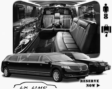 Stretch TownCar Limo for hire