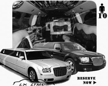 Chrysler 300 Limo for wedding in Colorado Springs